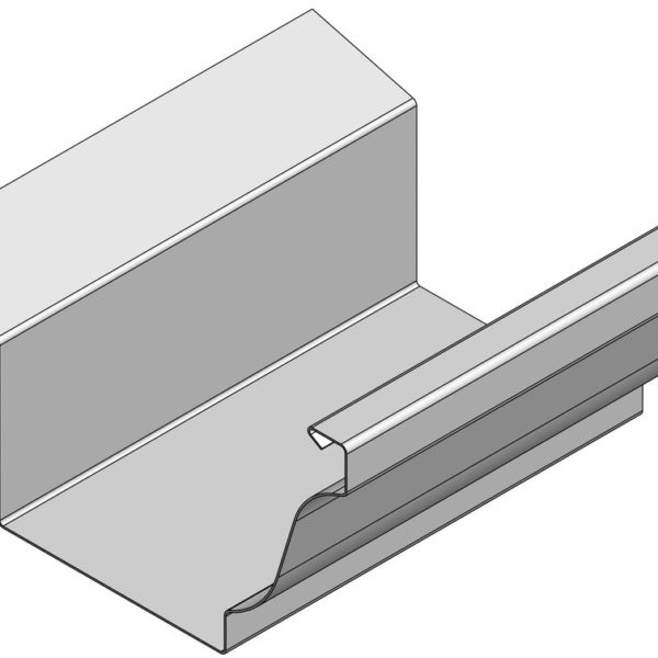 MG5 GUTTER WITH FLANGE NO DIM.i